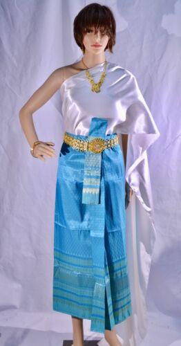 Set Sabai thailandese Blu Abbigliamento 04 Costume Costume Skirt And tradizionale qIpZwZSR