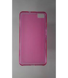 Coque-en-gel-TPU-housse-protection-silicone-pour-BQ-Aquaris-M5-5-Rose