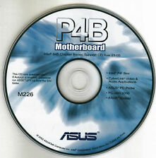 ASUS P4B Motherboard Drivers Installation Disk M226