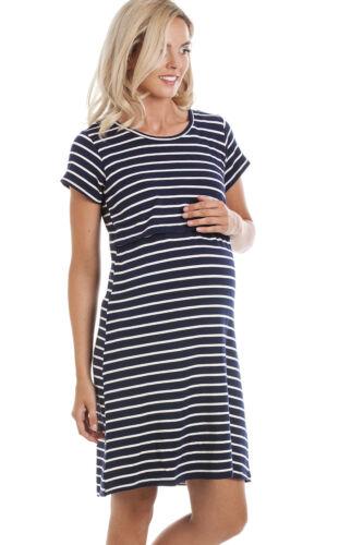 XXL *UK* Central Chic Maternity Breastfeeding Nursing Dresses in M L XL