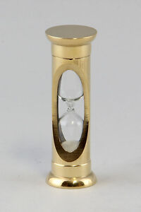 Brass Hourglass NEW 9977017