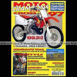 MOTO-CRAMPONS-N-137-LUIGI-SEGUY-SUZUKI-DR-650-SE-YAMAHA-TT-600-E-YZ-125-250-1996