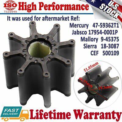 Water Pump Impeller For Mercruiser Bravo 7.4L 8.2L V8 47-59362T1 18-3087 500109