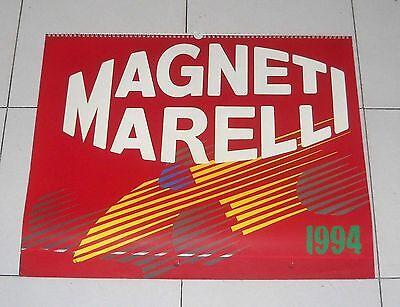 Calendario Magneti Marelli 94 FERRARI Formula 1 Rally Calendar