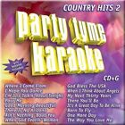 Party Tyme Karaoke: Country Hits, Vol. 2 [CD] by Sybersound (CD, May-2005, Sybersound Records)
