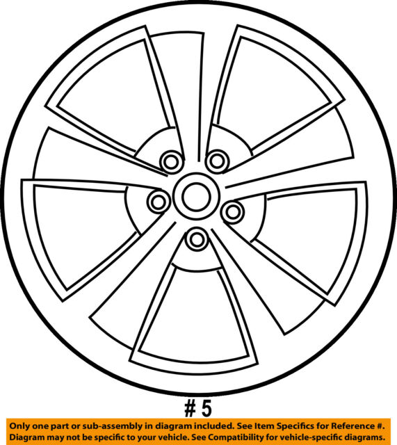 dodge chrysler oem 11 14 charger wheel alloy 1nq47sz0ad ebay Hub Bearings for Industrial Equipment dodge chrysler oem 11 14 charger wheel alloy aluminum 1nq47sz0ad