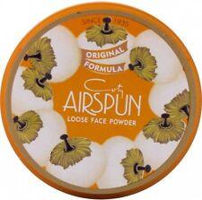 COTY Airspun Loose Face Powder - Translucent, Natural Look Formula Makeup NEW