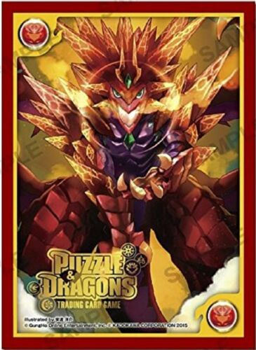 Puzzle /& Dragons Volcano Dragon and Anime Game Character Card Sleeves PAD PND
