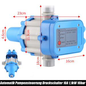 Pumpensteuerung Druckschalter Druckwächter Automatik Wasserdruck Pumpenschalter