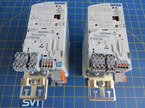 Lenze E82EV251/_2C 8200 Vector Inverters 0.25kW Lot of 2