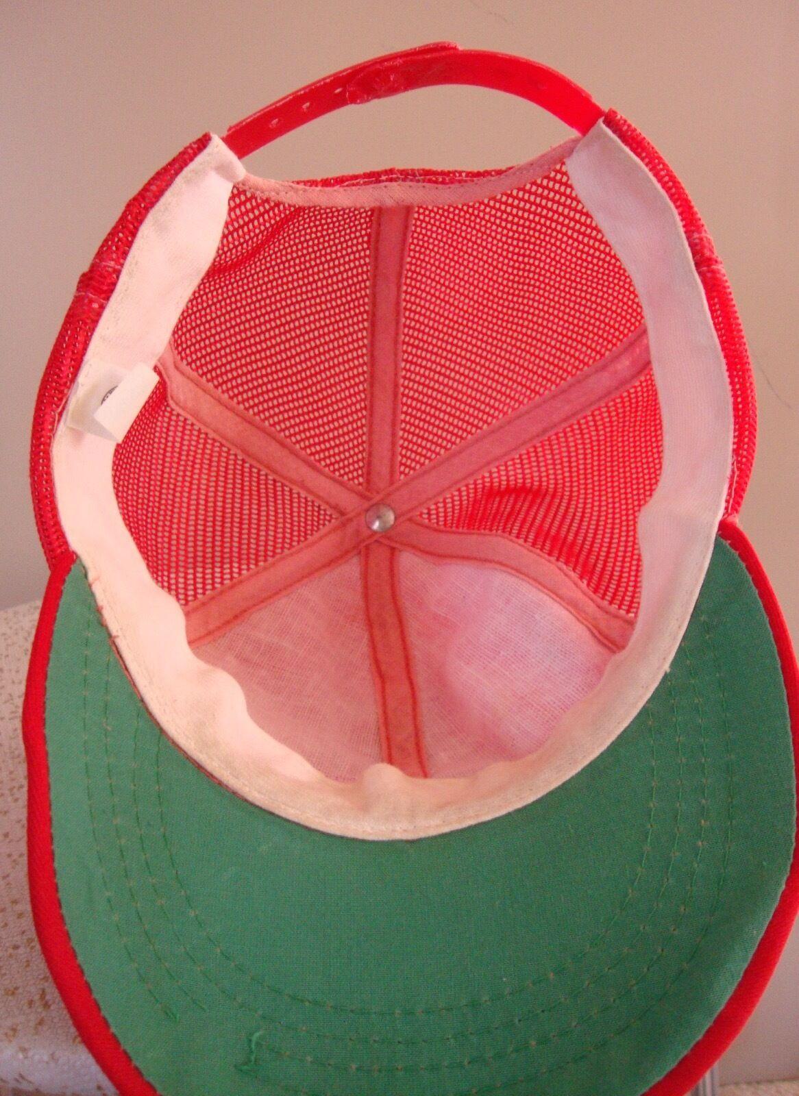 Vintage Snapback Hat Adjustable Red  ***HONDA**    - image 5