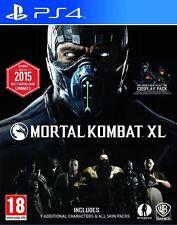 Mortal Kombat XL PS4 Sony PlayStation 4 Brand New Factory Sealed