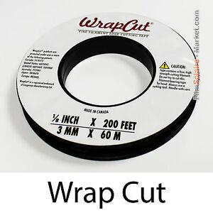 """Marque Populaire """"wrapcut"""" - 60m, Fil De Coupe Film Vinyl, Adhésif, Covering, Wrap, Filament Tape"""
