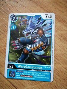 WereGarurumon - ST2-08 - Digimon Card Game 2020 Tamer Pack 2 Promo