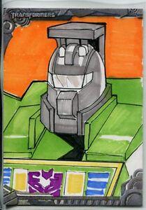 Transformers Optimum Sketch Card By MJ San Juan