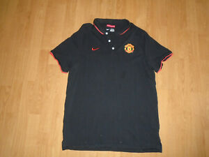 Manchester United Polo Shirt For Adults Size Extra Large Nike Vgc Uk Freepost Ebay