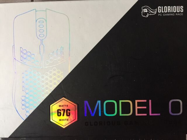 Glorious Model O Wired Gaming Mouse Matte 67g White NIB Sealed