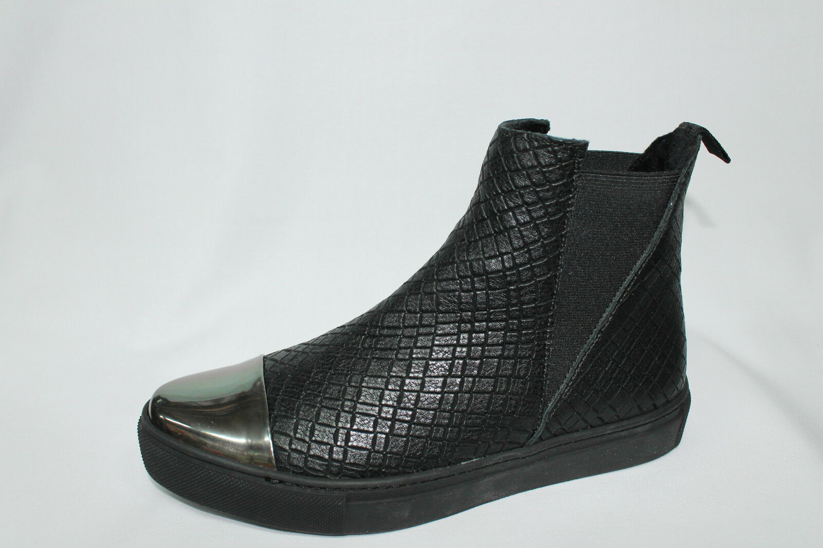 Zapatos casuales salvajes 39M2 Stivaletti Sneakers Chelsea Frau 39M2 salvajes nero Made in Italy listino€105 - 20% 2ec6d1