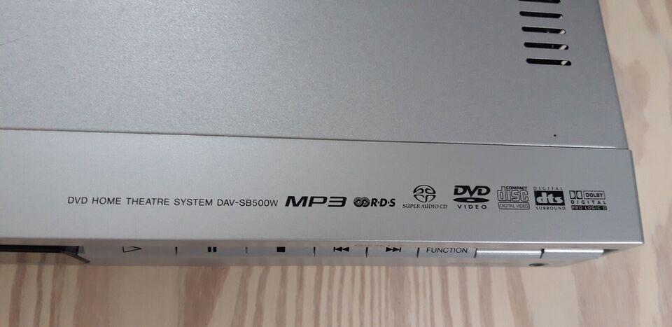 Sony, DAV-SB500W-, 5.1 højttalersæt