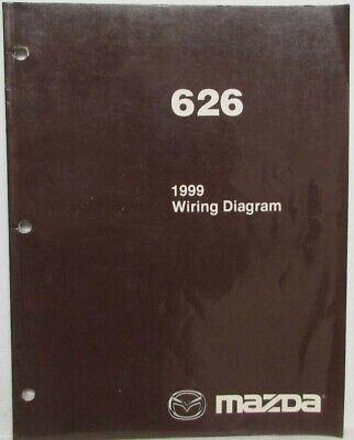 1999 Mazda 626 Electrical Wiring Diagram | eBay