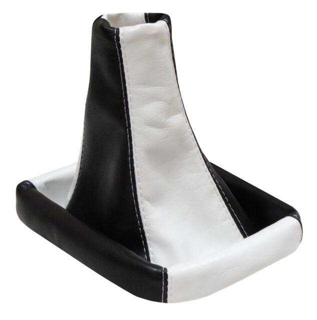 Soufflet de levier vitesse blanc/noir zm pour PEUGEOT 206 306 406