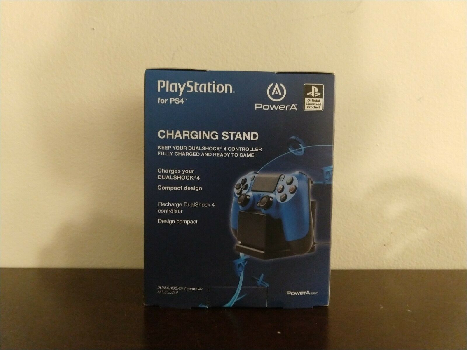 PlayStation PowerA Charging Stand PS4 Dualshock 4 Controller NEW X2