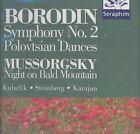 Alexander Borodin: Symphony No. 2; Polovtsian Dances; Modest Mussorgsky: Night on Bald Mountain (CD, Oct-1995, Seraphim UK)
