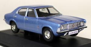 Vanguards-1-43-Scale-VA10300-Ford-Cortina-MK3-L-Sapphire-Blue-Diecast-Model-car