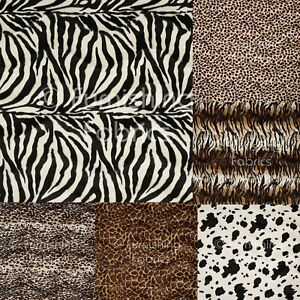 New-Soft-Faux-Fur-Animal-Skin-Pattern-Upholstery-Cushion-Curtain-Fabric-Material