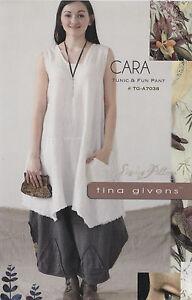 PATTERN-Cara-Tunic-amp-Pants-women-039-s-sewing-PATTERN-from-Tina-Givens