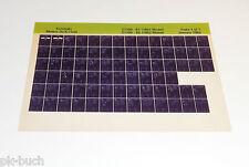 Microfich Ersatzteilkatalog Kawasaki Z 1100 Stand 01/1982
