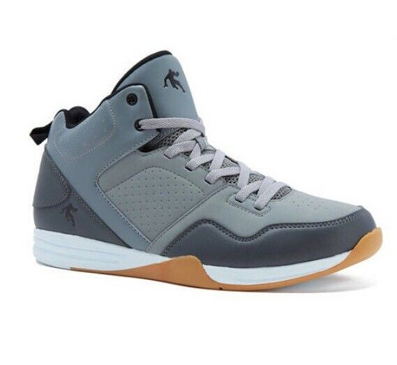And1 Men's Capital Gray Athletic Basketball With Shoes Size 9  With Basketball Defects 423fdb