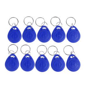 10Pcs-TK4100-keychains-125KHZ-RFID-proximity-id-card-token-tags-key-fobs-NFC-HU