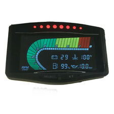 New Listingcar Truck Oil Pressure Gauge Voltmeter Water Temp Meter Tachometer 5 Function