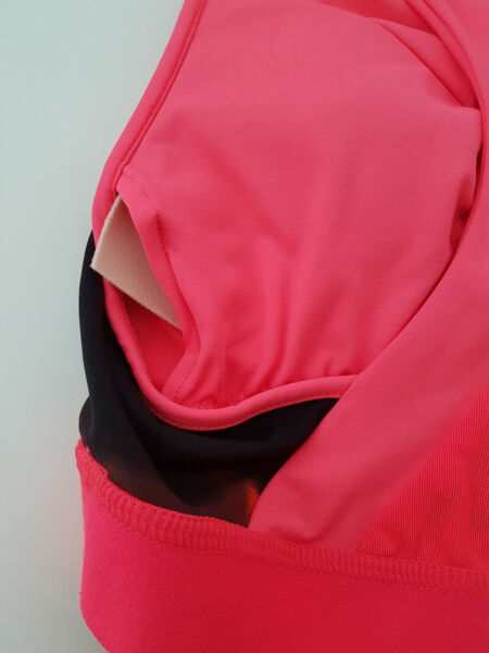 Asics Damen Sport Bra Fitness Trainings BH Lauf Running Unterwäsche Pink