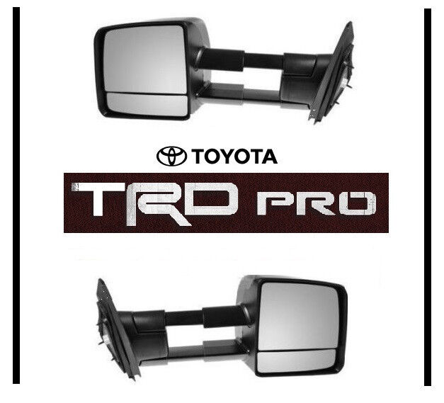 2015 Toyota Tundra Towing Mirrors >> 2015 2016 2017 Toyota Tundra Trd Pro Tow Mirror Set Towing Mirrors