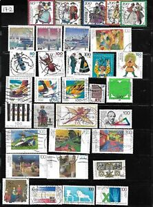 Lot-139-GERMANY-100-Stamps-different-used