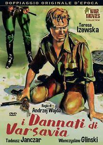 I Dannati Di Varsavia DVD  A&R PRODUCTIONS *NUOVO*