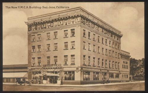Postcard SAN JOSE,CaliforniaCA NEW Y.M.C.A. BUILDING 1910'S