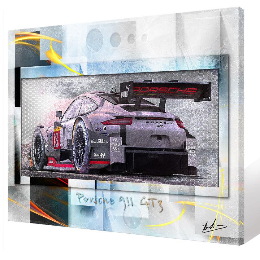 Porsche 911 gt3 auto voiture de sport peintures murales murales murales images sur toile abstrait 2251 a | Une Performance Fiable  5b6166
