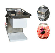 Commercial Electric Meat Slicer 0113mm Blade Food Cutter Low Noisy Easy Use