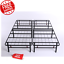 queen size platform bed frame 14 inch mattress steel foundation metal heavy duty