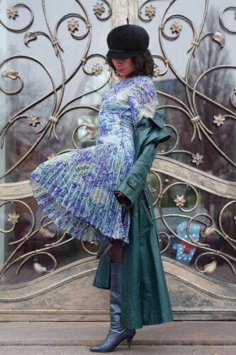 True Danzing anni Vintage Lurex '70 Queen Glitter Chiffon Glamour Abito Hippy 4Bpzqf