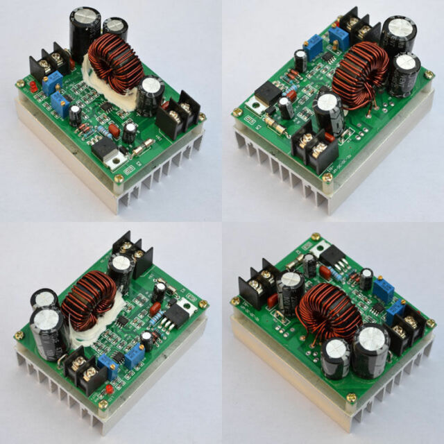 Boost DC-DC Converter Power Supply Step-up Module 12-80V 24v to 12-80V 48v 800w
