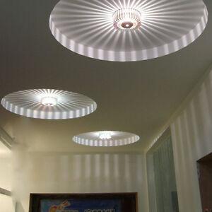 3W LED Aluminium Deckenleuchte Deckenlampe Flurleuchte für ...