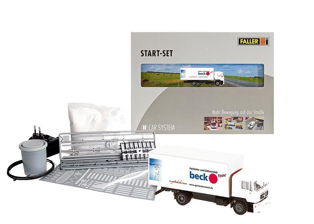 Faller Car System 161505-h0 car sistema start-set camiones MAN-nuevo