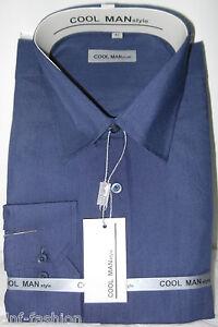 Camicia-classica-uomo-Cool-Man-manica-lunga-collo-classico-Art-150-9-90
