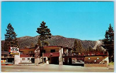 SOUTH LAKE TAHOE, California CA Roadside EL RU MOTEL Highway