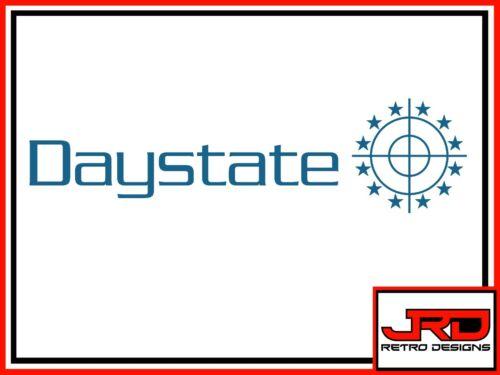 DAYSTATE Vinyle Logo Autocollant en bleu
