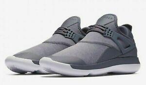 577ca6a07850e9 NEW NIKE Air Jordan Fly 89 Men s Trainers Shoes Dark Grey Platinum ...